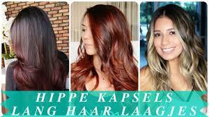 Hippe Kapsels Lang Haar Laagjes