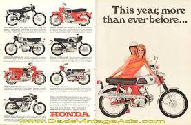 vintage honda motorcycle ads. 1967 honda sport 160 vintage motorcycle ad ads