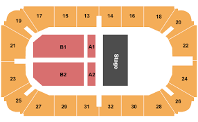 Hobart Arena Tickets 2019 2020 Schedule Seating Chart Map