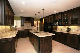 Kitchen Cabinets And Countertops Designs Modern Kitchen With Grey Tile Floor And White Cabinets Also