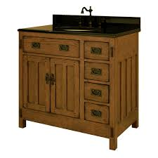 36 american craftsman single bath vanity