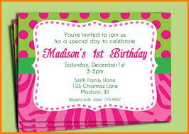 birthday invitation format 5 birthday invitation exle cna resumed