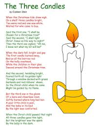 Small Picture The Three Candles poem ChristmasLa Navidad Pinterest Third
