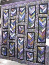 Best 25+ Braid quilt ideas on Pinterest | Scrap quilt patterns ... & french braid quilt pattern | True Blue Canadian: Kawartha Quiltmakers'  Guild Quilt Show - Adamdwight.com
