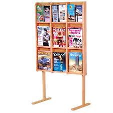 magazine rack office. lm12 adjustable brochure magazine rack office