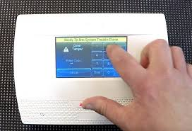 Dsc Alarm Yellow Triangle Light Is On How To Troubleshoot A Honeywell Security Keypad