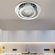 the flush fitting is illuminated by the latest energy saving led technology and the light bounces off the clear crystal to make the entire piece