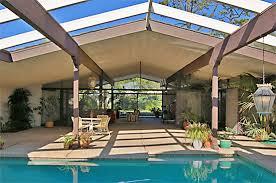 Cliff May Indoor/Outdoor Modern Design.