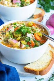 instant pot en vegetable soup