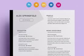 Creative Resume Templates Free Word - Adultdomains.us