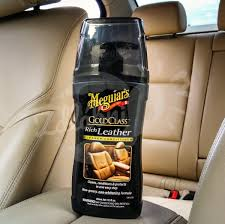 meguiar s gold class rich leather cleaner conditioner na kůži