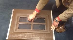 clopay garage door window insertsClopay Garage Doors Classic Collection SnapIn Decorative Window