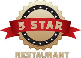 restaurants logo with a star. Delighful Restaurants 5 Star Restaurants Logo With A U