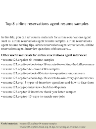 airline resume format top 8 airline reservations agent resume samples
