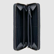 gucci zipper wallet. gucci signature zip around wallet detail 2 zipper l