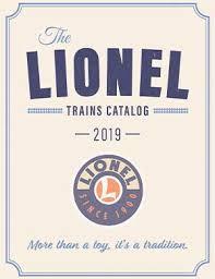 lionel trains catalogs