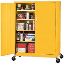 sandusky lee mobile steel extra wide storage cabinets