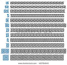 Border Patterns Unique Ancient Border Vector Collection