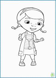 Doc Mcstuffins Coloring Pages Disney Junior Admirable Disney Junior
