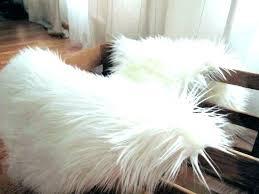 animal fur rugs white faux sheepskin rug exotic animal fur rugs
