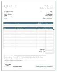 Services Quotation Template General Quote Template Free Quotation Templates Estimate