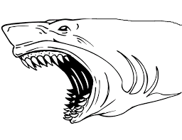Small Picture Shark Jaws Coloring Page Coloring Book