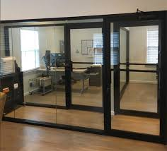 glass wall glass office partitions