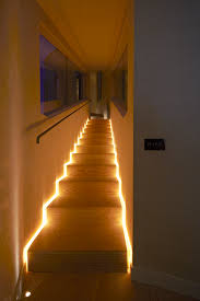 lighting for staircase. funky stair lighting idea for staircase a