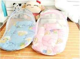 new born babies bed baby bed pillow innovative infant cushion mattress bedding crib netting set portable new born