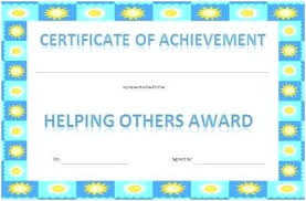 Achievement Awards For Elementary Students Achievement Award Certificates Classroom Ideas Certificate And