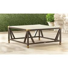 Form patio chat table stock