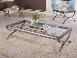 coffee table amusing silver coffee table set silver accent table rectangle and square glass top