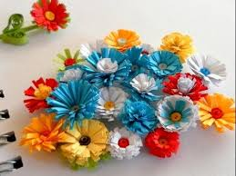 Paper Art Flower Diy Paper Crafts How To Make Paper Flowers Innovative Arts