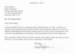 church resignation letter sample  seangarrette cochurch resignation letter sample