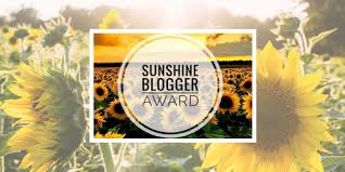 Image result for image of sunshine blogger award