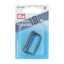<b>Adjusting buckle</b>, 30mm, antique <b>silver</b> | Prym