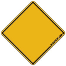 blank road signs test. Delighful Test And Blank Road Signs Test