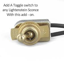 toggle switch add on for hardwired