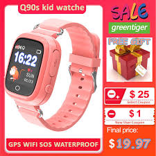 <b>Anti Lost</b> Q50 Kids <b>Smart Watch</b> OLED Child <b>GPS</b> Tracker SOS ...