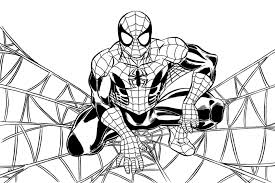 Spiderman Da Colorare Online Colorare