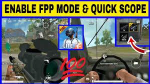 PUBG MOBILE LITE FPP MODE ...