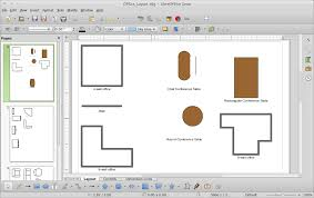 office layout. Cara Menggambar Office Layout Di LibreOffice Draw