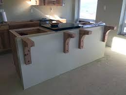 kitchen island countertop brackets corbels kitchen cabinets