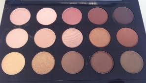 mac warm and cool eyeshadow palettes