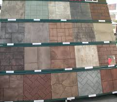 Decorative Concrete Overlay Stamped Concrete Colors Best Stamped Concrete Patio Alfresco