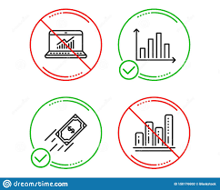 Graph Chart Online Fast Payment Diagram Graph And Online Statistics Icons Set