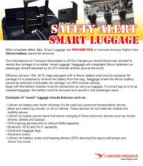 Delayed Baggage Compensation Letter Surinam Airways Checked Baggage