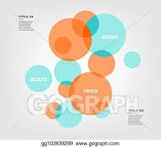 Infographic Venn Diagram Vector Art Bubble Chart With Elements Venn Diagram