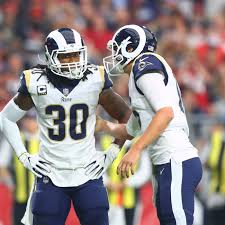 Arizona Cardinals Rb Depth Chart 2017 La Rams Release Unofficial Depth Chart Turf Show Times