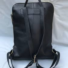 nwot ery genuine leather backpack m 59b80bead14d7bed100129e5